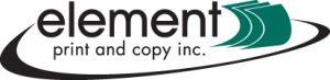 element print and copy new logo